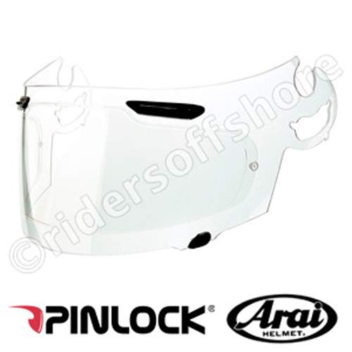 Arai I-Type Pinlock Insert (Clear for normal vision)