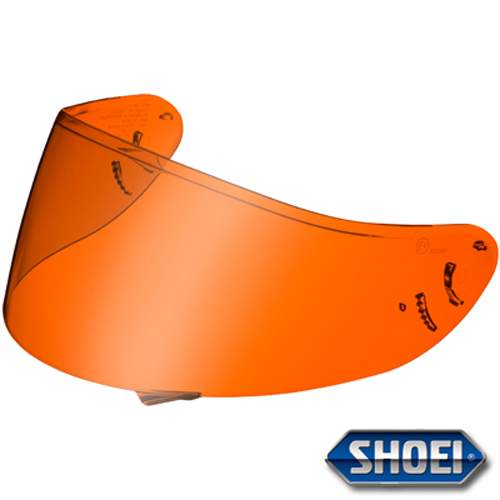 Shoei Qwest High Definition Amber Visor Pinlock Ready