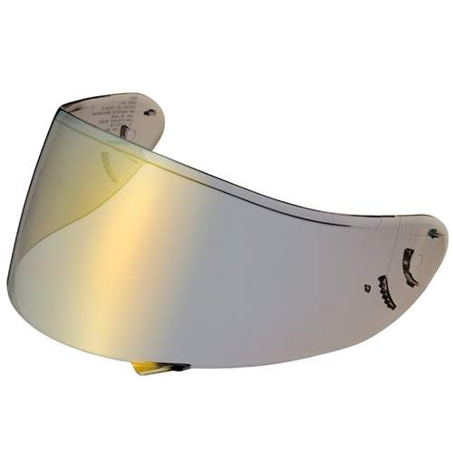 Shoei Qwest Spectra Gold Visor Pinlock Ready