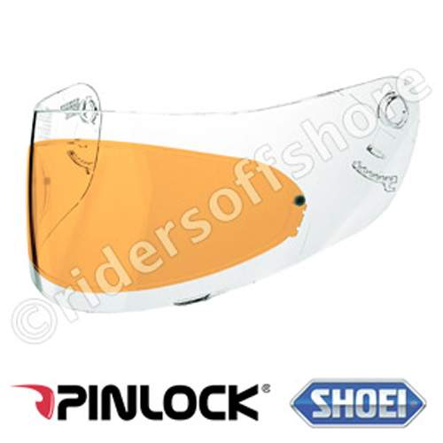 Shoei Pinlock anti-fog Insert Amber (For all weather conditions)