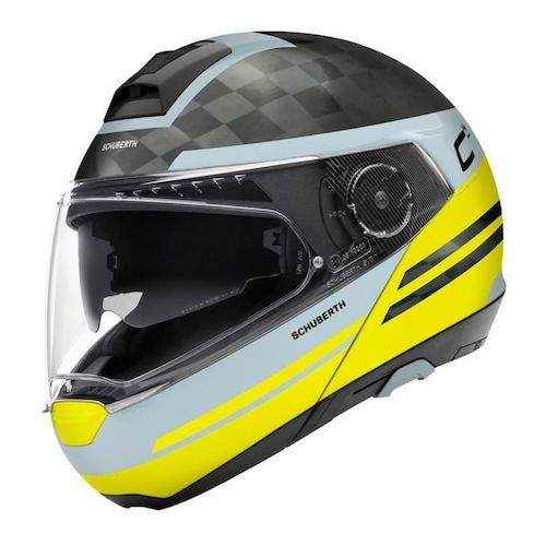 Schuberth C4 Carbon Tempest Yellow