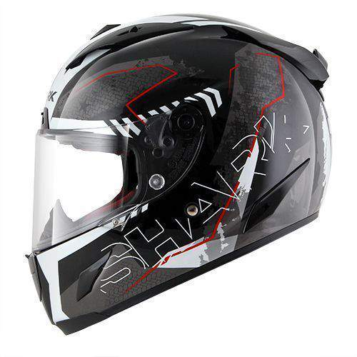 Shark Race-R Pro Cintas Black/Anthracite/Red
