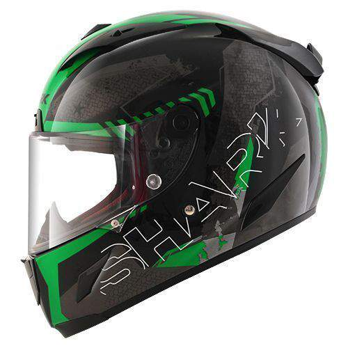 Shark Race-R Pro Cintas Black/Green/Anthracite