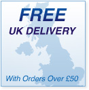 Free UK delivery with orders over £50