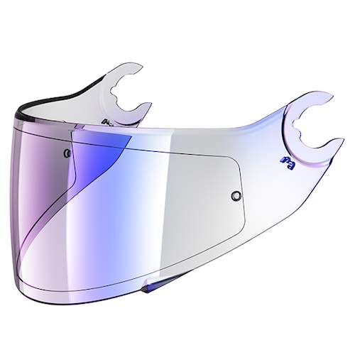 Shark Spartan VZ160 Light Iridium Blue Visor Pinlock ready